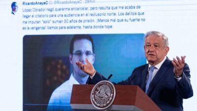 Las acusaciones de AMLO contra Ricardo Anaya y la presunción de inocencia