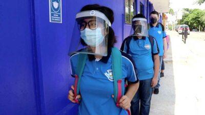 Veracruz inicia simulacro en escuelas por regreso a clases presenciales