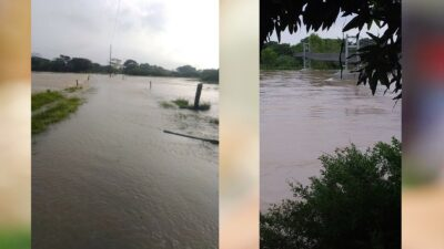 Veracruz: Monitorean ríos por ascenso; partes bajas están desbordadas