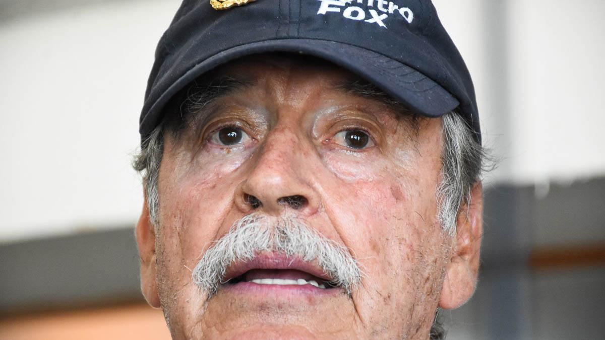 Vicente Fox Quesada libra COVID-19