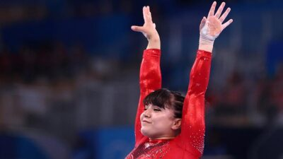 Alexa Moreno se lleva histórico cuarto lugar en salto de caballo
