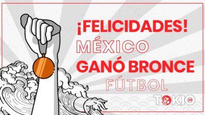 El Tri es de bronce, México derrota a Japón