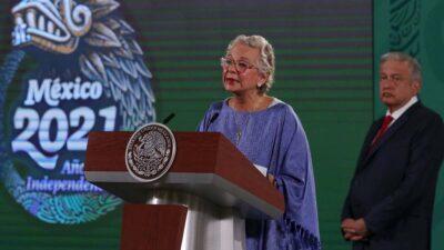 Olga Sánchez Cordero deja Segob; regresa al Senado