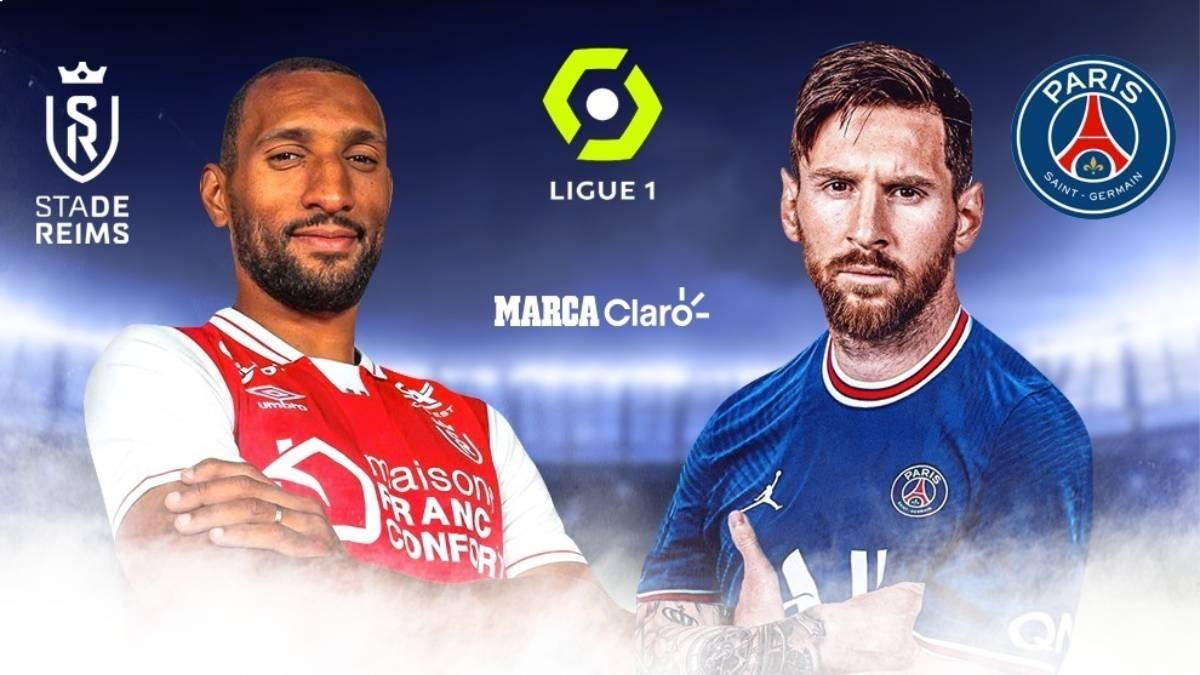 Reims vs PSG, en directo