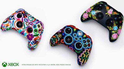 Xbox controles artesanos