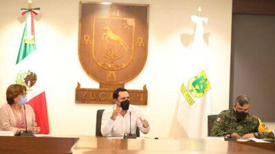 Suspenden en Yucatán actividades laborales por Grace
