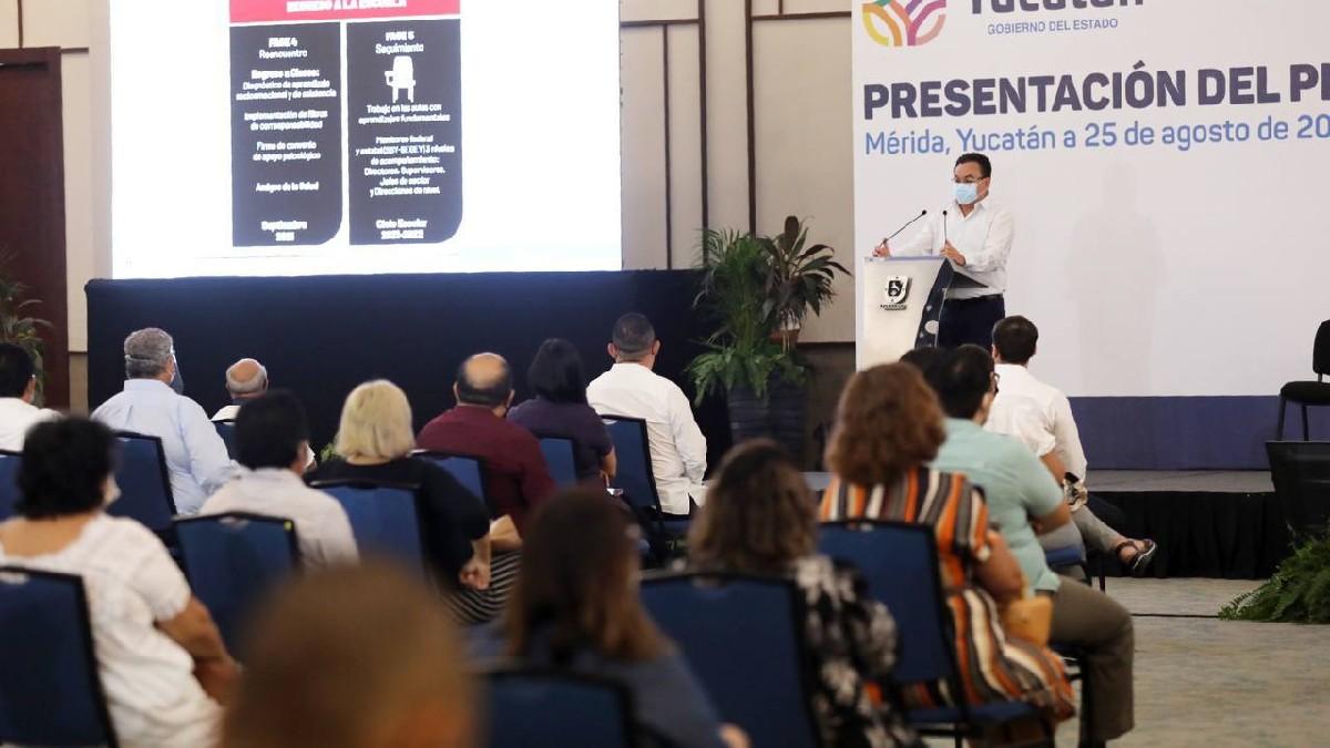 Mauricio Vila: Regreso a clases en Yucatán es voluntario