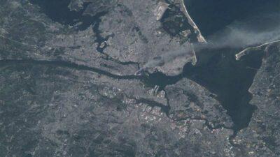 El astronauta estadounidense Frank Culbertson captó las imágenes desde la EEI. Foto: NASA