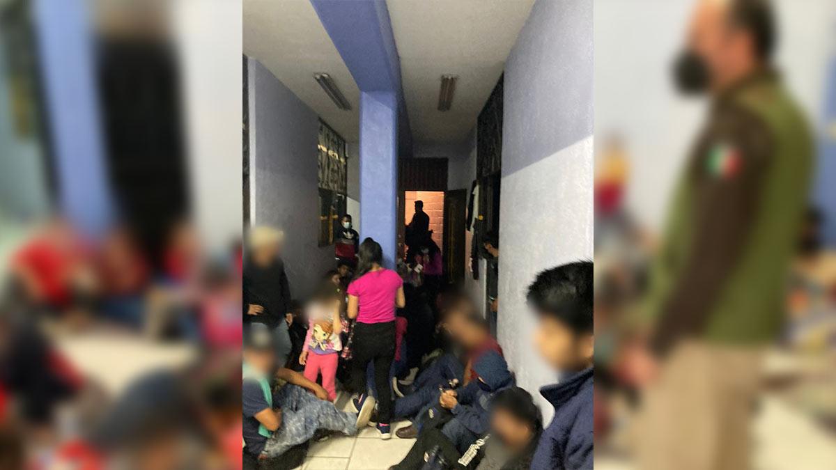 Aguascalientes: detienen a más de trescientos migrantes
