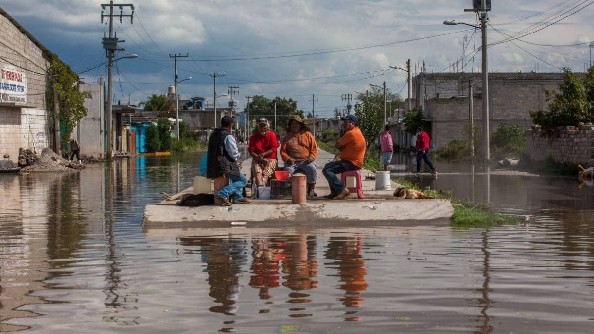 Hidalgo: lluvias inundan Tlahuelilpan