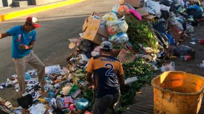 Acapulco continúa con problemas para la recolección de basura