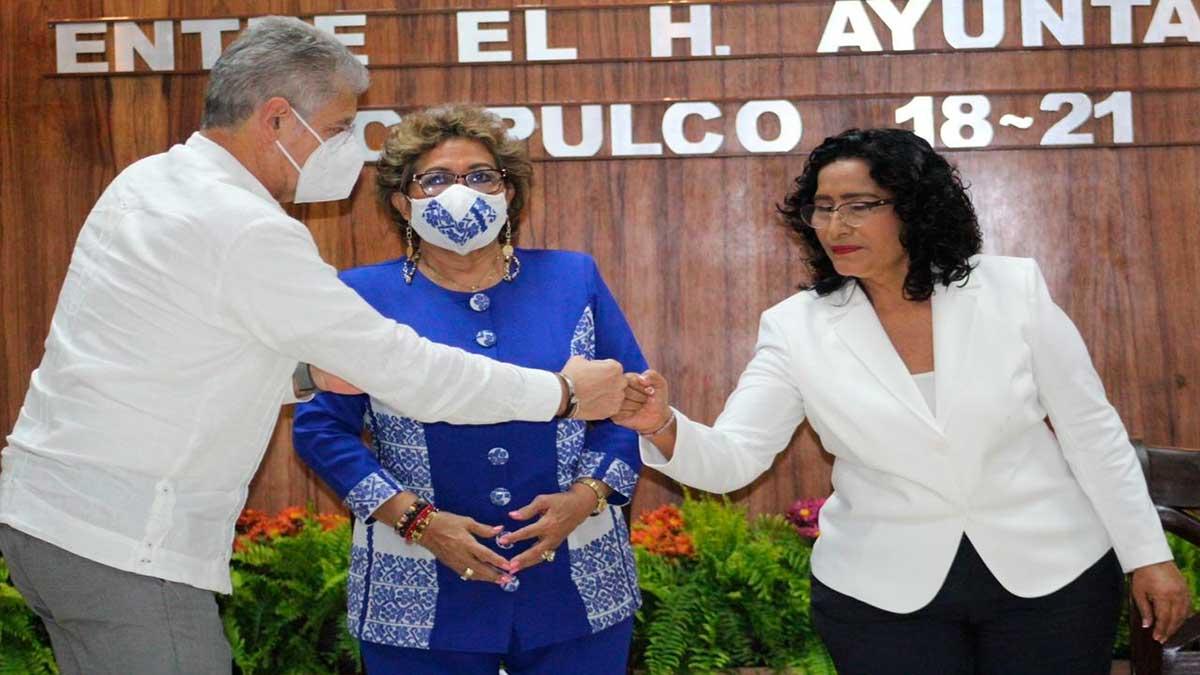Guerrero: Abelina López asume alcaldía de Acapulco