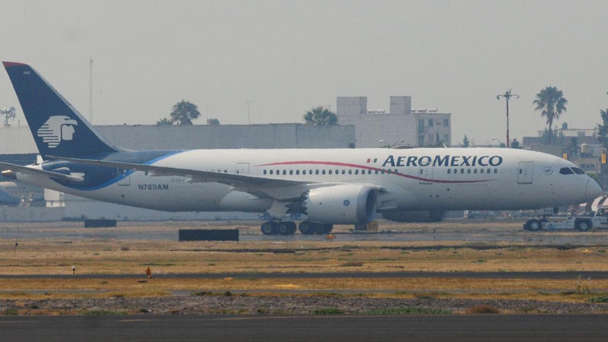 Aeroméxico descarta fallas en los servicios de despacho de aeronaves