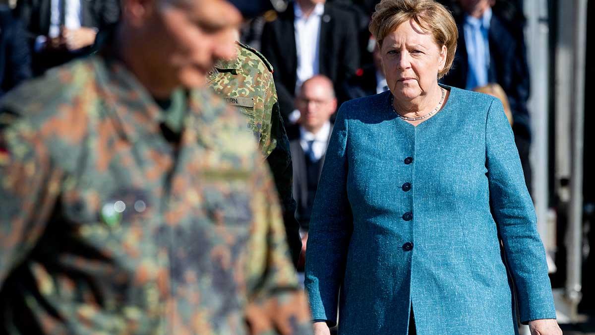 Angela Merkel se ha convertido en una de las mujeres más poderosas del mundo. Foto: AFP