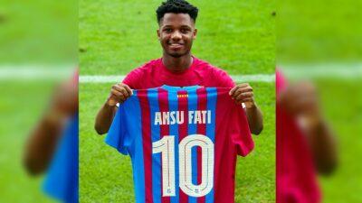 Ansu Fati 10 Barcelona