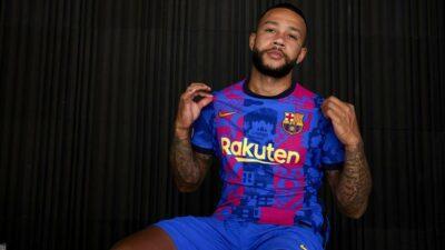 Barcelona Jersey Champions