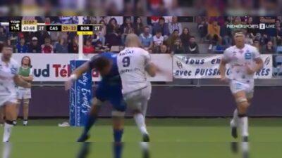 Brutal Tacleo Rugby Ryno Pieterse Maxime Lucu
