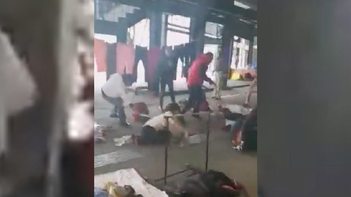 Zona Rosa: Captan batalla campal entre comerciantes de CDMX