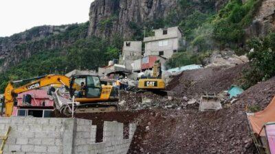 Cerro del Chiquihuite: Alistan demolición de 11 casas en la zona cero