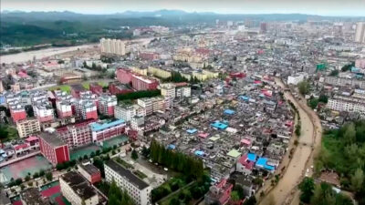 China: Tormenta causa desalojo de miles de aldeanos por inundaciones