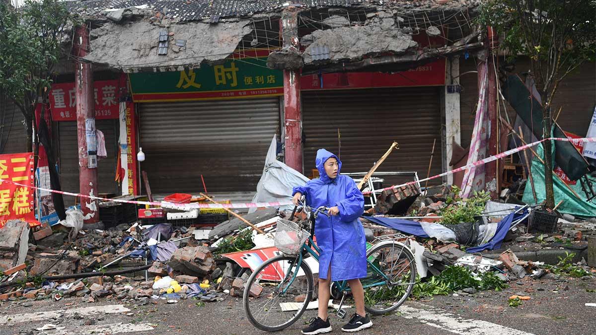 Las autoridades de China reportaron 3 muertos. Foto: Reuters