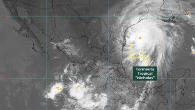 Tormenta Nicholas a punto de ser huracán: alertan a estados