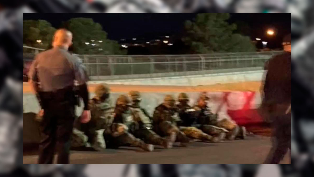 Militares mexicanos son sometidos en Estados Unidos