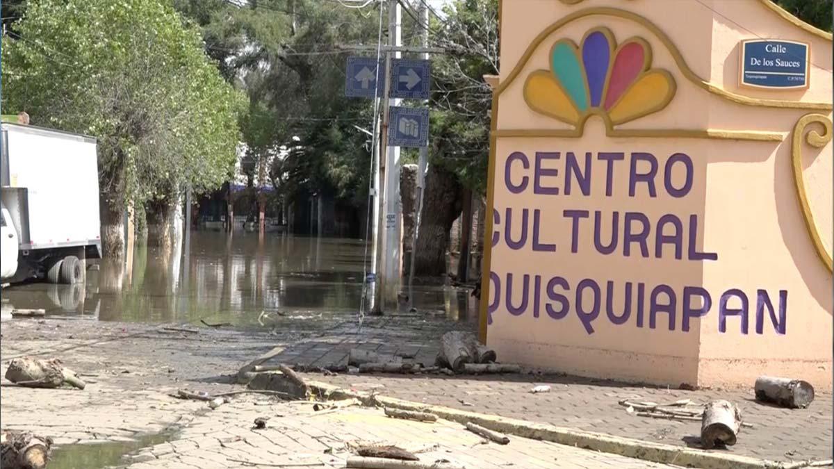 Querétaro: Tequisquiapan comienza a levantarse tras inundación