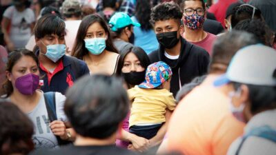 COVID en México: tercera ola baja; suman 5 mil 127 nuevos casos
