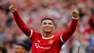 Cristiano Ronaldo marca doblete en su regreso al Manchester United