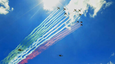 Clausuran la Feria Aeroespacial México 2021