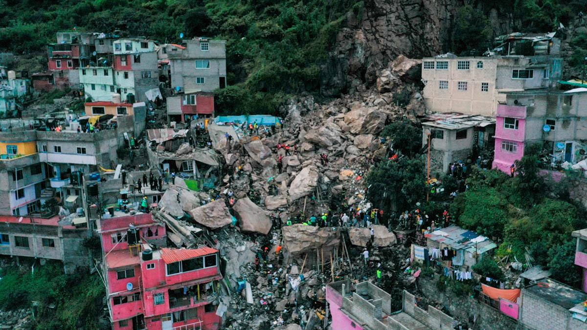 Cerro el Chiquihuite: autoridades revelan posibles causas del deslave
