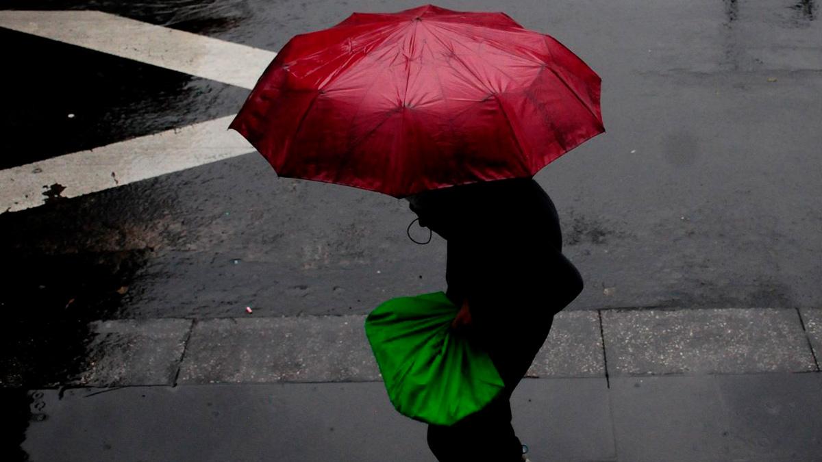 CDMX, afectada por fuertes lluvias