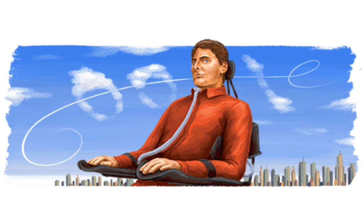 Christopher Reeve doodle google