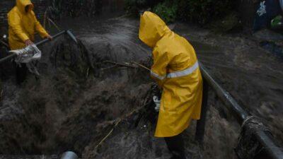 En Edomex, lluvias dejan severas inundaciones en Acolman