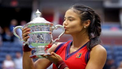 Emma Raducanu es la nueva campeona del US Open