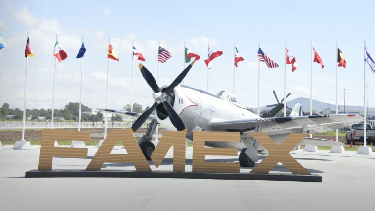 ¿Qué es la Feria Aeroespacial que se realiza en México y cuál es su propósito?