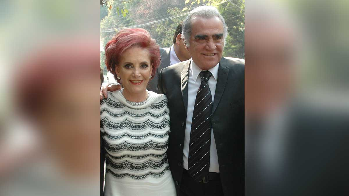 Cuquita Abarca, esposa de Vicente Fernández