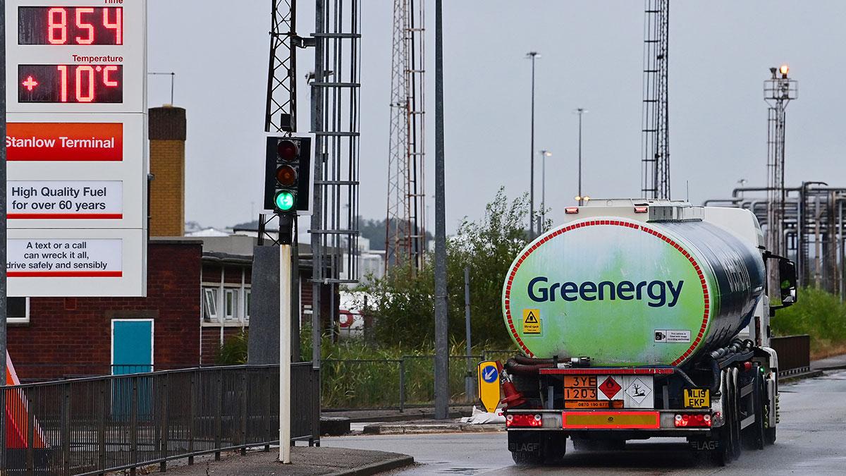 Reino Unido: escasez de gasolina es por falta de transportistas