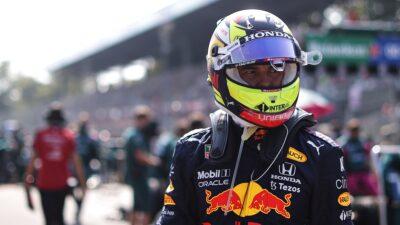 GP De Rusia Checo Pérez
