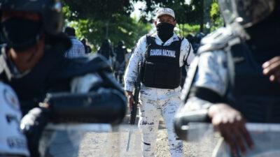 En Chiapas, liberan elementos de la Guardia Nacional que permanecían en una jaula