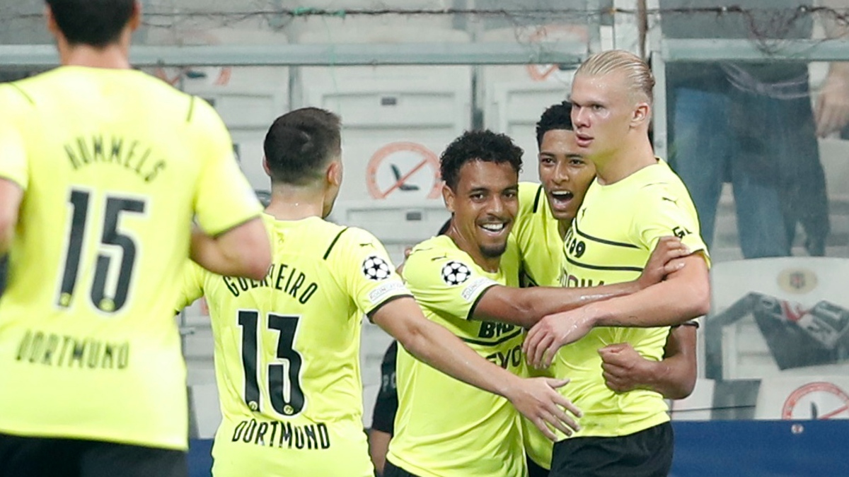 Haaland Dortmund Champions