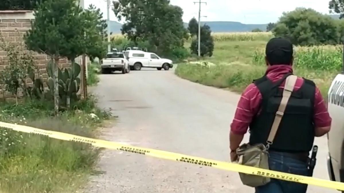 Hallan fosa con 10 cadáveres en finca de los Manchines en Zacatecas