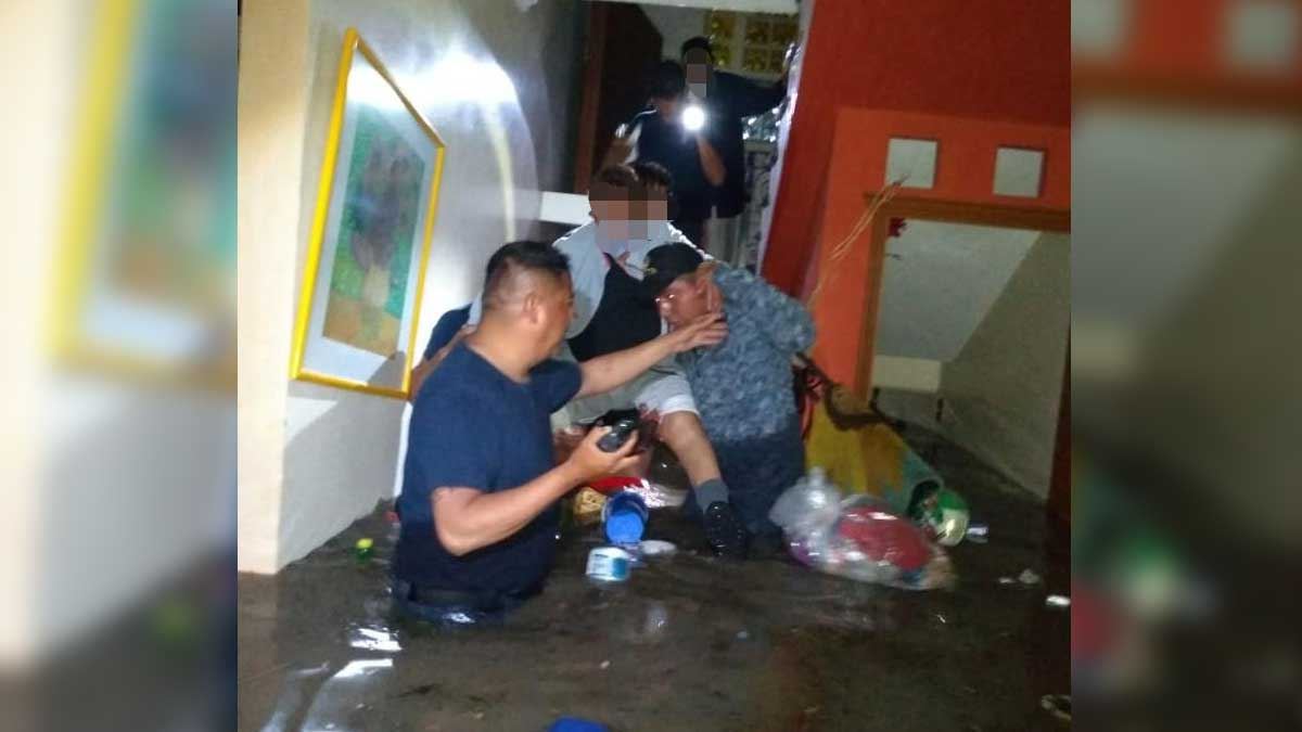 En Hidalgo activan refugios y el plan DN-III, tras severas lluvias