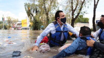 Hidalgo: se hunde lancha de gobernador Omar Fayad; realizaba recorrido
