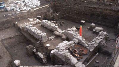 INAH: cerca de Tepito hallan restos arqueológicos tras la Conquista