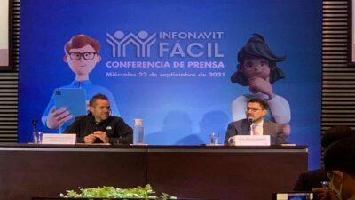 Infonavit presenta su nueva plataforma Infonavit Fácil