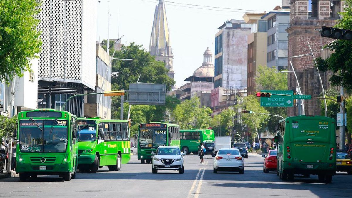 Jalisco: Modificarán rutas de transporte por 15 de septiembre en Guadalajara