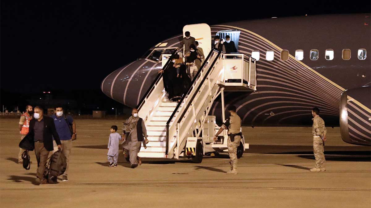 Se trata del primer vuelo de esta clase entre ambos países después de que los talibanes retomaran el poder en Afganistán, el 15 de agosto.