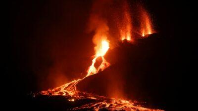 Volcán Cumbre Vieja: NASA captura el camino de lava que dejó